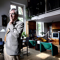 Nederland, Alphen aan de Rijn , 21 september 2012..Joop van den Berg, hoogleraar parlementaire stelsels.Foto:Jean-Pierre Jans