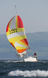 Largs Regatta Week 2015, hosted by Largs Sailing Club and Fairlie Yacht Club<br /> <br /> IRL4412, Miss Behavin, Sigma 33, Alan Lennox<br /> <br /> Credit Marc Turner