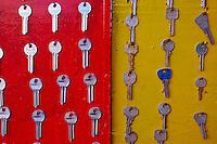 Maroc, Casablanca, ancienne Medina, clefs// Morocco, Casablanca, old medina, key
