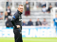 Football - 2021 / 2022 Premier League - Newcastle United vs West Ham United - St James Park - Sunday 15th August 2021<br /> <br /> West Ham assistant manager Stuart Pearce is seen during the warm up<br /> <br /> Credit: COLORSPORT/Bruce White