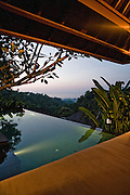 Pool villa w/ view of the sea at Damai Lovina Villas