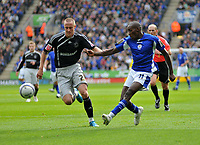 Photo: Tony Oudot/Richard Lane Photography. Leicester City v Derby County. Coca Cola Championship. 17/10/2009<br />