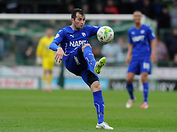 Chesterfield's Sam Hird - Photo mandatory by-line: Harry Trump/JMP - Mobile: 07966 386802 - 03/04/15 - SPORT - FOOTBALL - Sky Bet League One - Yeovil Town v Chesterfield - Huish Park, Yeovil, England.
