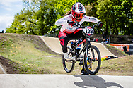 #109 (TANNO Kanami) JPN at Round 4 of the 2019 UCI BMX Supercross World Cup in Papendal, The Netherlands