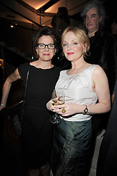 Left to right, ANNETTE BENING and MIRANDA RICHARDSON at the BAFTA Nominees party 2011 held at Asprey, 167 New Bond Street, London on 12th February 2011.