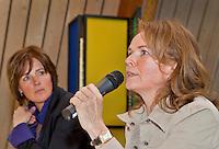 VLAARDINGEN -  - Persconferentie Ladies Open. Organisatoren Liz Wijma en Elsemieke Havenga. COPYRIGHT KOEN SUYK