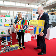 13.06.2018.            <br /> Up to 1,000 delegates visited Ireland's largest manufacturing supply chain conference and trade exhibition - Manufacturing Solutions Ireland 2018 - at Limerick Institute of Technology (LIT) in the course of today (Wednesday, June 13). <br /> <br /> Pictured at he event were Chloe Reynolds, Sempre Group and Richard Keegan, Enterprise Ireland.<br /> <br /> In its second year, the conference and engineering trade show, hosted by the UK tool technologies trade association - the GTMA in conjunction with LIT, exceeded last year's attendance thereby helping to generate in excess of a quarter of a million euro for the local economy. The Manufacturing Solutions event was supported by the Syndicat du Décolletage Congress also held in Limerick. Picture: Alan Place