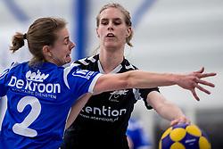 27-01-2018 NED: OVVO/De Kroon - Oost Arnhem, Maarssen<br /> De korfballers/sters uit Arnhem winnen met 24 - 22 / Rosemiek Harrewijn #14