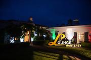August 15, 2019:  Monterey Car Week Lamborghini Lounge Mansion at Pebble Beach