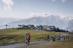 THEMENBILD - die Schmittenhöhe ist im Sommer ein beliebtes Ausflugsziel für Urlauber und Bergliebhaber, aufgenommen am 30. Juli 2020, Zell am See, Österreich // the Schmittenhöhe is a popular excursion destination in summer for holidaymakers and mountain lovers on 2020/07/30, Zell am See, Austria. EXPA Pictures © 2020, PhotoCredit: EXPA/ Stefanie Oberhauser