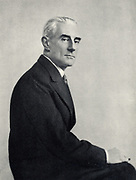 (Joseph) Maurice Ravel (1875-1937) French composer. After a photograph.