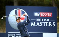 Luke Donald during day two of the British Masters at Walton Heath Golf Club, Surrey.