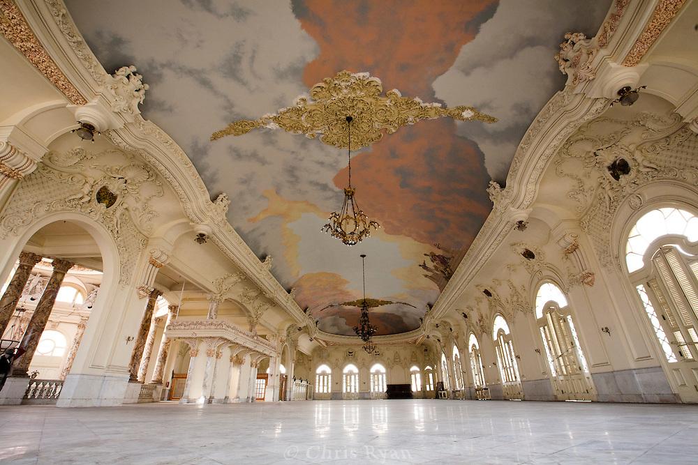 Ballroom in Gran Teatro, Havana, Cuba