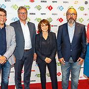 NLD/Hilversum20150825 - Najaarspresentatie NPO 2015, .........., Henk Hagoort, Shula Rijxman, Frans Klein en Suzanne Kunzeler