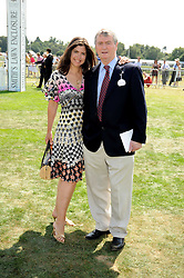STEPHEN & KIMBERLEY QUINN at the Cartier International Polo at Guards Polo Club, Windsor Great Park on 27th July 2008.<br /> <br /> NON EXCLUSIVE - WORLD RIGHTS