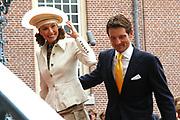 His highness prince Pieter-Christiaan of Oranje Nassau, of Vollenhoven and Ms drs. A.T. van Eijk get married Thursday 25 augusts in Palace the Loo in apeldoorn.<br /> <br /> <br /> Zijne Hoogheid Prins Pieter-Christiaan van Oranje-Nassau, van Vollenhoven en mevrouw drs. A.T. van Eijk treden donderdag 25 augustus in Paleis Het Loo te Apeldoorn in het huwelijk. <br /> <br /> On the photo/Op de foto:<br /> <br /> <br /> Zijne Hoogheid Prins Floris van Oranje-Nassau, van Vollenhoven  Mevrouw mr. A.L.A.M. Söhngen