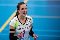 29-09-2018 NED: Supercup Sliedrecht Sport - Eurosped, Sliedrecht<br /> Sliedrecht takes the first price of the new season / Susanne Kos #1 of Eurosped