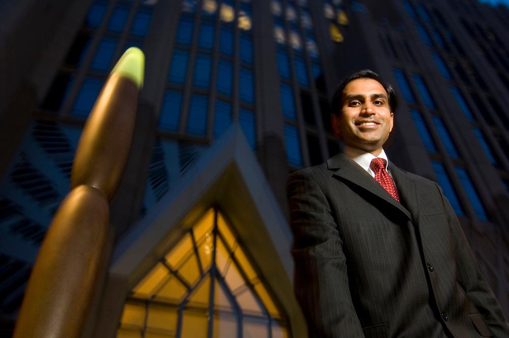 Sanjay Gupta, Sr. VP Consumer & Small Business e-Commerce & ATM Executive, BofA