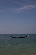 Fishermans boat near the Village of Maungmagan, Burma.<br /> Note: These images are not distributed or sold in Portugal