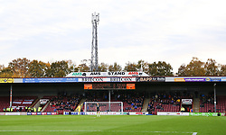 Bristol Rovers fans at Glanford Park - Mandatory by-line: Matt McNulty/JMP - 11/11/2017 - FOOTBALL - Glanford Park - Scunthorpe, England - Scunthorpe United v Bristol Rovers - Sky Bet League One
