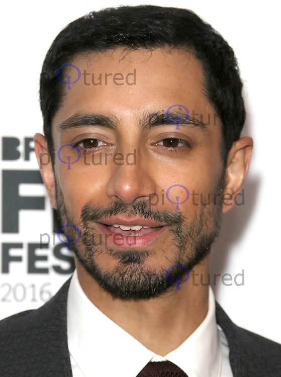 Riz Ahmed, BFI London Film Festival 2016: City Of Tiny Lights - European Premiere, Picturehouse Central, London UK, 13 October 2016, Photo by Brett D. Cove