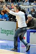 DESCRIZIONE : Bologna LNP DNB Adecco Silver GironeA 2013-14 Fortitudo Bologna Basket Cecina<br /> GIOCATORE : Coach Campanella Federico <br /> SQUADRA : Basket Cecina<br /> EVENTO : LNP DNB Adecco Silver GironeA 2013-14<br /> GARA :  Fortitudo Bologna Basket Cecina <br /> DATA : 05/01/2014<br /> CATEGORIA : Fair Play Esultanza<br /> SPORT : Pallacanestro<br /> AUTORE : Agenzia Ciamillo-Castoria/A.Giberti<br /> Galleria : LNP DNB Adecco Silver GironeA 2013-14<br /> Fotonotizia : Bologna LNP DNB Adecco Silver GironeA 2013-14 Fortitudo Bologna Basket Cecina<br /> Predefinita :