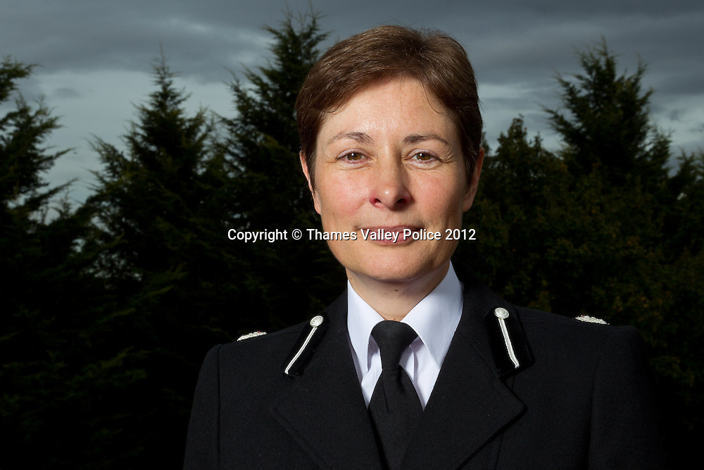 Portrait of Assistant Chief Constable Helen Ball of Thames Valley Police, who has recently received promotion to Deputy Assistant Commissioner in the Metropolitan Police with responsibility for policing in North London. Abingdon, UNITED KINGDOM. October 04 2012. <br /> Photo Credit: MDOC/Thames Valley Police<br /> © Thames Valley Police 2012. All Rights Reserved. See instructions.