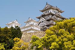 Famous Himeji Castle in Japan