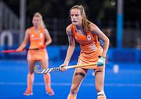 TOKIO -  Felice Albers (NED)  tijdens de wedstrijd dames , Nederland-India (5-1) tijdens de Olympische Spelen   .   COPYRIGHT KOEN SUYK