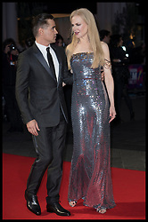 October 12, 2017 - London, London, United Kingdom - Image licensed to i-Images Picture Agency. 12/10/2017. London, United Kingdom. Colin Farrell and Nicole Kidman arriving at the Killing of a Sacred Deer premiere at the London Film Festival. Picture by Stephen Lock / i-Images (Credit Image: © Stephen Lock/i-Images via ZUMA Press)