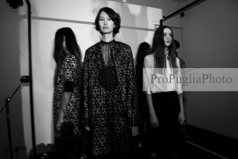 J.JS LEE presentation at the Condé Nast College of Fashion and Design. Born in Seoul, Korea, Jackie Lee spent five years working as a Senior Pattern Cutter in Seoul and two years at KISA London as Master Pattern Cutter. She studied at Central Saint Martins (MA 2010 womenswear) as well as completing the PG Innovative Pattern Cutting course at Central Saint Martins in 2007<br /> <br /> In March 2010, she launched her eponymous label, J. JS LEE featuring sleek androgynous tailored pieces. For her first collection after college, she received NEWGEN sponsorship for SS11 in the exhibition space alongside many established London labels.