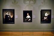 Rijksmuseum Amsterdam - National Museum Amsterdam;<br /> <br /> Portret van Johannes Wtenbogaert (1633-Rembrandt) - Portret van Maria Trip (1639) - Elizabeth Bas ( 1642-Ferdinand Bol)