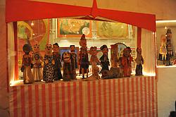© Copyright licensed to London News Pictures. 13/10/2010. Sir Peter Blake's collection of puppets at the Museum of Everything, Primrose Hill, London. Sir Peter Blake is loaning some of his collection to James Brett, owner of the Museum of Everything for an exhibition which opens 13th October 2010.