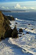 Point Bonita and the Point Bonita Lighthouse, Golden Gate National Recreation Area, Marin County, California