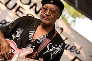 Phillip Walker at the Pocono Blues Festival 7/28/07