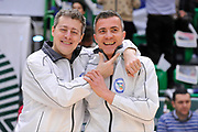 DESCRIZIONE : Beko Legabasket Serie A 2015- 2016 Dinamo Banco di Sardegna Sassari - Openjobmetis Varese<br /> GIOCATORE : Gianluca Calbucci Alessandro Martolini<br /> CATEGORIA : Ritratto Before Pregame Arbitro Referee<br /> SQUADRA : AIAP<br /> EVENTO : Beko Legabasket Serie A 2015-2016<br /> GARA : Dinamo Banco di Sardegna Sassari - Openjobmetis Varese<br /> DATA : 07/02/2016<br /> SPORT : Pallacanestro <br /> AUTORE : Agenzia Ciamillo-Castoria/C.Atzori