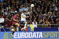 March 22, 2019 - Madrid, Madrid, Spain - Argentina's Giovani Lo Celso seen in action during the International Friendly match between Argentina and Venezuela at the wanda metropolitano stadium in Madrid. (Credit Image: © Manu Reino/SOPA Images via ZUMA Wire)