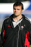 Dean van Camp arrives at the Canada rugby team training session, Auckland, New Zealand on Monday 11 June 2007. Photo: Hagen Hopkins/PHOTOSPORT