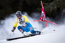 19.12.2016, Grand Risa, La Villa, ITA, FIS Ski Weltcup, Alta Badia, Riesenslalom, Herren, 1. Lauf, im Bild Matts Olsson (SWE) // Matts Olsson of Sweden in action during 1st run of men's Giant Slalom of FIS ski alpine world cup at the Grand Risa race Course in La Villa, Italy on 2016/12/19. EXPA Pictures © 2016, PhotoCredit: EXPA/ Johann Groder