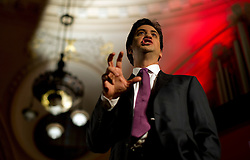 © London News Pictures. 14/03/2013 . London, UK.  Labour leader Ed Miliband speaking at the British Chambers of Commerce annual conference at Central Hall, Westminster, London on  Thursday, March 14, 2013. Photo credit : Ben Cawthra/LNP