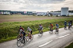 Riders  during 5th Stage from Dobrovnik to Novo mesto, 225 km at Day 5 of DOS 2021 Charity event - Dobrodelno okrog Slovenije, on May 1, 2021, in Slovenia. Photo by Vid Ponikvar / Sportida