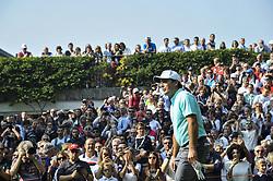 October 14, 2017 - Monza, Italy - Francesco Molinari of Italy  on Day three of the Italian Open at Golf Club Milano  (Credit Image: © Gaetano Piazzolla/Pacific Press via ZUMA Wire)