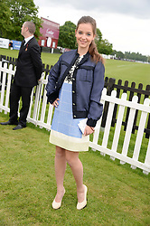 CELINE BUCKENS at the 2013 Cartier Queens Cup Polo at Guards Polo Club, Berkshire on 16th June 2013.