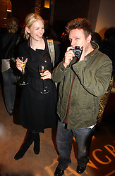 Photgrapher RANKIN and TUULI SHIPSTER at a party to celebrate 100 years of Chinese Cinema hosted by Shangri-la Hotels and Tartan Films at Asprey, New Bond Street, London on 25th April 2006.<br /><br />NON EXCLUSIVE - WORLD RIGHTS