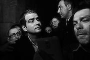Raffaele Fitto durante la convetion dei Ricostruttori di Forza Italia all'Auditorium del Massimo, Roma 21 febbraio 2015.  Christian Mantuano / OneShot