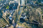 Nederland, Utrecht, Utrecht, 07-02-2018; Maliesingel met bolwerk Sonnenborgh en de gelijknamige Sterrenwacht publiekssterrenwacht.<br /> Maliesingel with stronghold Sonnenborgh and the eponymous  public observatory<br /> <br /> luchtfoto (toeslag op standard tarieven);<br /> aerial photo (additional fee required);<br /> copyright foto/photo Siebe Swart