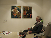 H.G.R. Price. Catherine Gran/Adolf Geudens. Albermarle Gallery. albermarle St. London  27 Feb 2002. © Copyright Photograph by Dafydd Jones 66 Stockwell Park Rd. London SW9 0DA Tel 020 7733 0108 www.dafjones.com