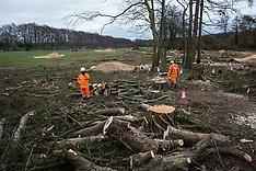 2021-04-09 HS2 tree felling in Wendover