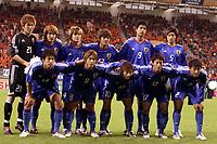 Datum: 08.06.2005  Copyright: AFLOSPORT/Digitalsport<br /> Mannschaftsfoto Japan U20, Hi.v.li. Keeper Shusaku Nishikawa, Tomokazu Nagira, Yuzo Kobayashi, Takuya Kokeguchi, Sota Hirayama, Tatsuya Masoshima, Vorn Keisuke Honda, Hokuto Nakamura, Shingo Hyodo, Akihiro Ienaga, Hiroki Mizumoto <br /> Norway only