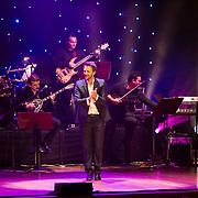 Kostas Karafotis, the famous greek singer, perform at the issanat concert hall in Istanbul, Turkey, 18 April 2013. Photo by TURKPIX